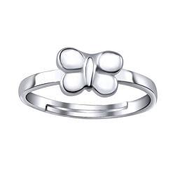 Inel din argint pentru picior cu fluture ZTD25255