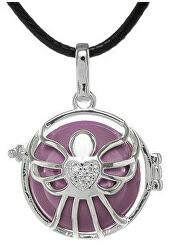 Dámský náhrdelník fialová rolnička Andílek K5SF20