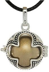 Dámsky náhrdelník hnedá Rolnička Štvorlístok K16SH18