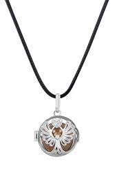 Dámský náhrdelník hnědá rolnička Poselství K10PH18