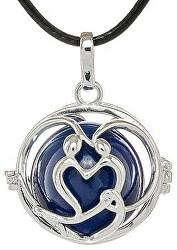 Dámský náhrdelník modrá Rolnička Harmony K7SM20