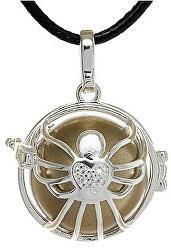 Dámský náhrdelník hnědá rolnička Andílek K5SH20