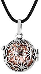 Dámský náhrdelník Rolnička Malé kytičky - měděná K2SM18