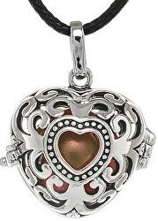 Dámský náhrdelník Rolnička Srdce Vintage K9SH18