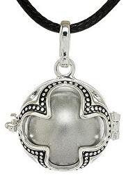 Dámský náhrdelník šedá Rolnička Čtyřlístek K16SS18