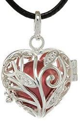 Dámsky náhrdelník Rolnička Srdiečko K13SC18