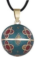 Pozlacený náhrdelník Rolnička India DZ20