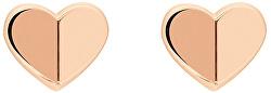 Bronzové náušnice Srdce TH2780301