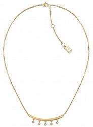 Elegantní pozlacený náhrdelník s přívěskem TH2780229