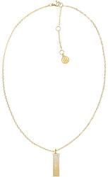 Ikonický pozlacený náhrdelník s krystaly TH2780420