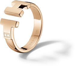 Luxusní bronzový prsten z oceli TH2700862