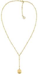 Moderní pozlacený náhrdelník TH2780377