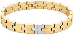 Zeitloses vergoldetes Armband aus Stahl 2790298