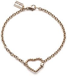 Vörös arany színű szív karkötő TH2700535