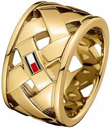 Ocelový proplétaný prsten TH2701024
