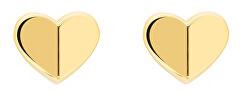 Pozlacené náušnice Srdce TH2780300