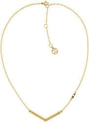Pozlátený náhrdelník z ocele TH2780360