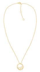 Pozlacený ocelový náhrdelník TH2780324 (řetízek, přívěsek)