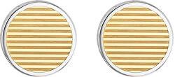Stylové ocelové manžetové knoflíčky TH2790094
