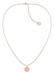 Collana dorata con il ciondolo TH2780281