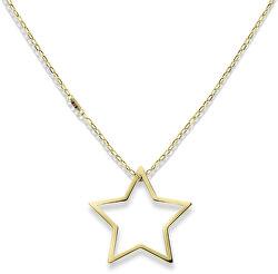 Zlatý náhrdelník s hvězdou TH2700851