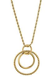 Pozlátený náhrdelník Hannah s príveskom TJ188