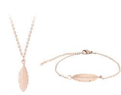 Bronzová zvýhodněná sada šperků Troli (náhrdelník, náramek)