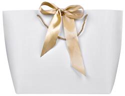 Dárková taška se zlatou stuhou XL