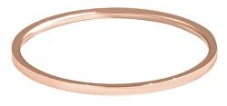 Elegantní minimalistický prsten z oceli Rose Gold