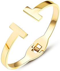 Luxusní pozlacený náramek pro ženy