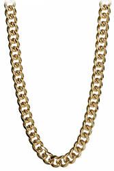 Masivní pozlacený náhrdelník