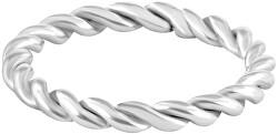 Moderní kroucený ocelový prsten