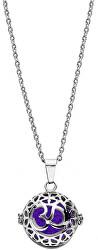 Multifunkčná oceľový náhrdelník s vymeniteľným stredom Aroma 132467