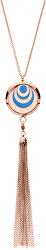 Multifunkčná pozlátený náhrdelník s vymeniteľným stredom Aroma 132463D