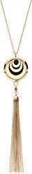 Multifunkčná pozlátený náhrdelník s vymeniteľným stredom Aroma 132463J