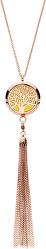 Multifunkčný pozlátený náhrdelník Strom života s vymeniteľným stredom Aroma 132468D