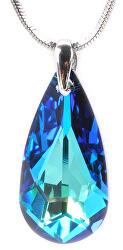 Náhrdelník Drop 24 mm Bermuda Blue