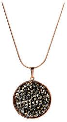 Bronzový náhrdelník Rocks Chocolate