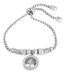 Zärtliches schimmerndes Armband mit Anhänger des Baumes des Lebens