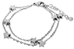 Oceľový náramok s hviezdičkami