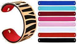 Ocelový náramek s vyměnitelnými barvami 31 mm VI.