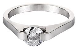 Ocelový prsten s krystalem KRS-088