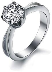 Ocelový prsten s krystalem KRS-174