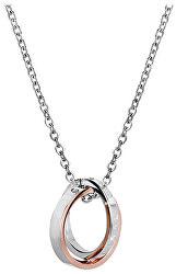 Originální partnerský náhrdelník pro dámy KNSC-064-RG