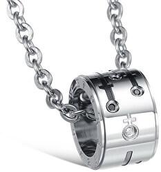 Partnerský náhrdelník pre pánov KNSC-055-MALE