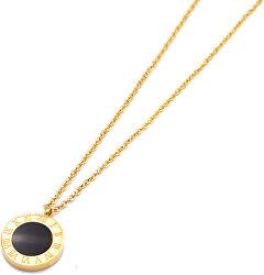Pozlátený náhrdelník s obojstranným príveskom