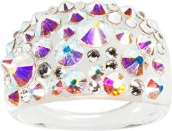 Prsteň Bubble Crystal AB