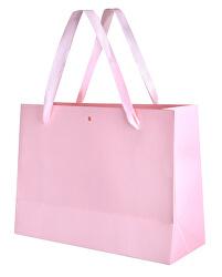 Růžová dárková taška