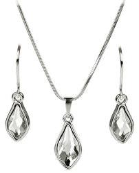 Sada náušnic a náhrdelníku Flame Crystal