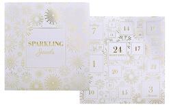 Šperkový adventní kalendář - bílý - SLEVA